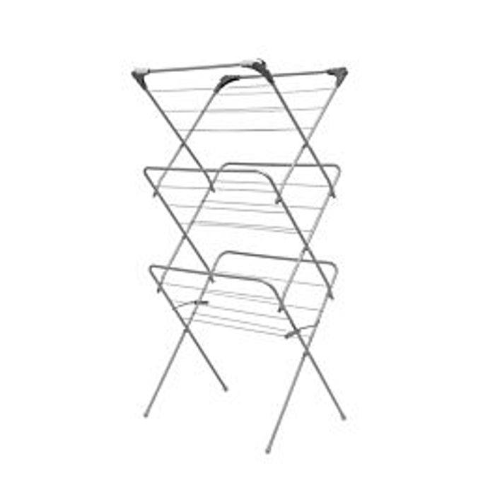 Addis 3 Tier Airer with Hooks