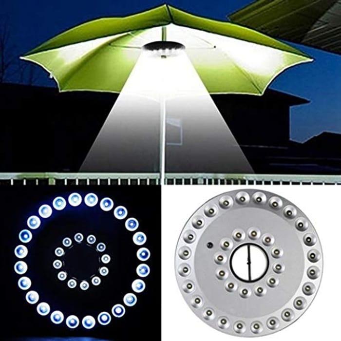LED Parasol Lights for £5.49