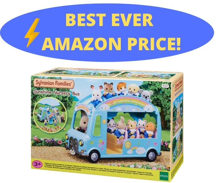 Best Ever Price! Sylvanian Families - Sunshine Nursery Bus
