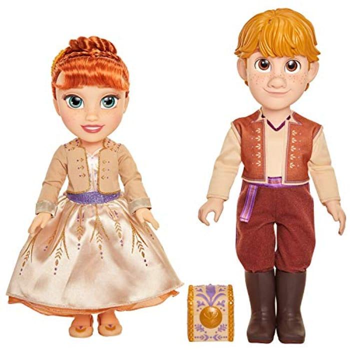 Frozen 2 201464 Disney Anna & Kristoff Dolls Proposal Gift Set,