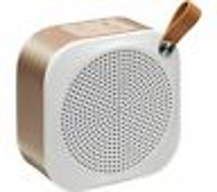 Best Price! JVC SP-AD50-M Portable Bluetooth Wireless Speaker - Champagne Gold