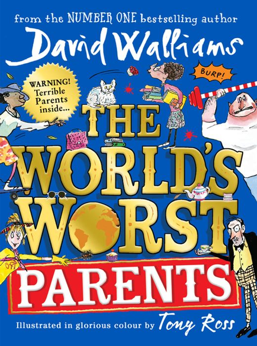 CHEAP! The World's Worst Parents - New David Walliams Book - Pre Order!