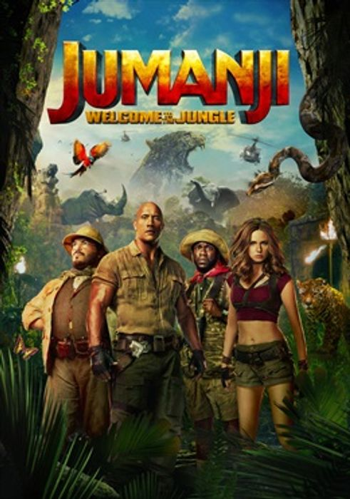 Jumanji - Welcome To The Jungle Film Free To Download & Keep