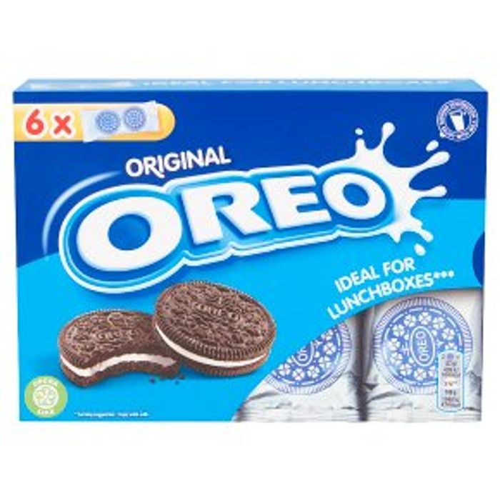 Oreo Ideal for Lunchboxes Original 6s 132g