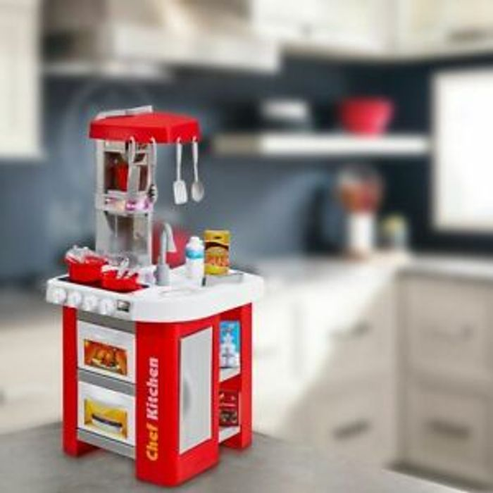 Kids Childrens Kitchen Play Set Click & Collect or Free Del
