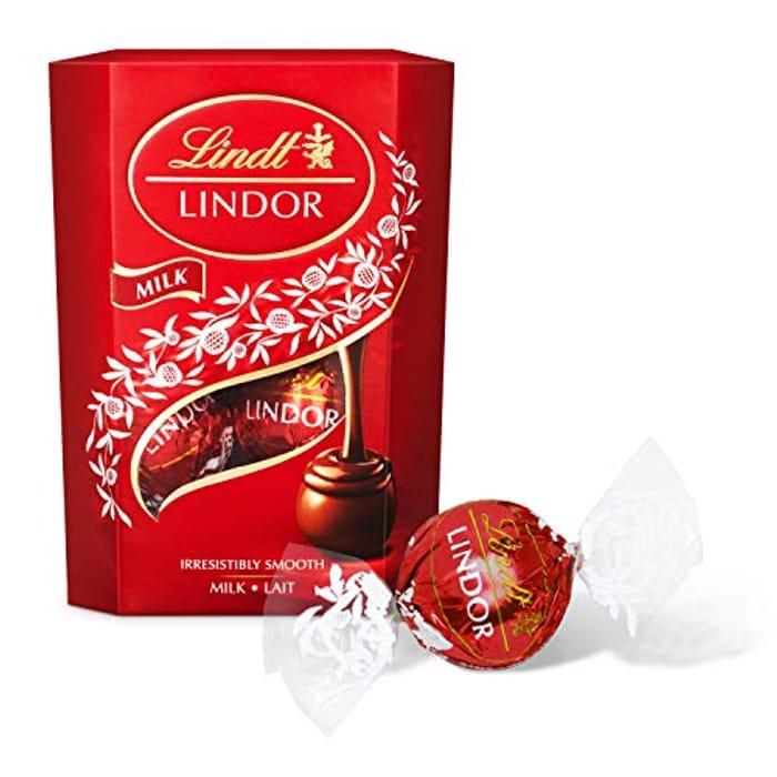 Lindt Lindor Milk Chocolate Truffles Box