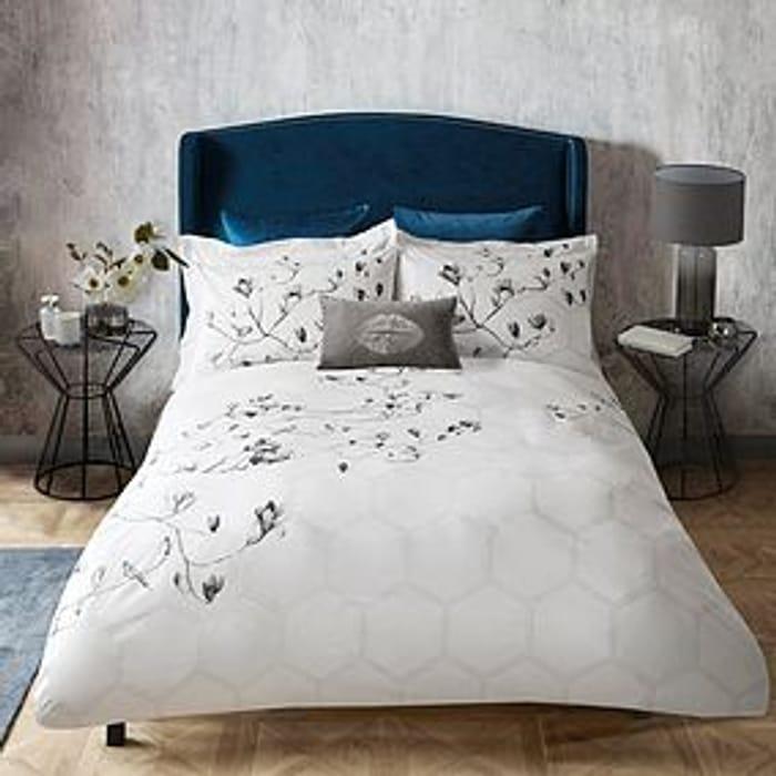 Emma Willis Kyoto Garden double Cotton Reversible Duvet Cover and Pillowcase Set