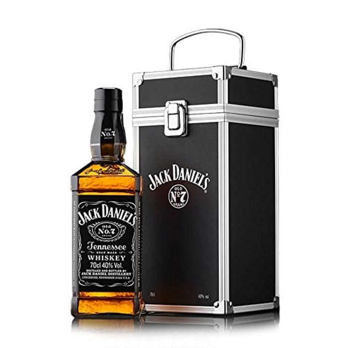 *SAVE £6* Jack Daniel's Flight Case Gift Box, 700 Ml