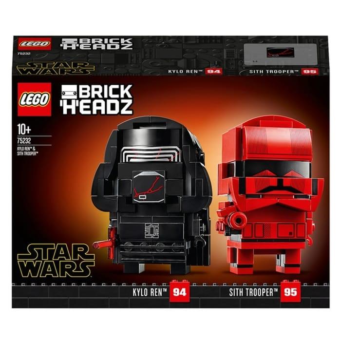 LEGO Star Wars BrickHeadz 75232 on Sale From £17.99 to £13.99