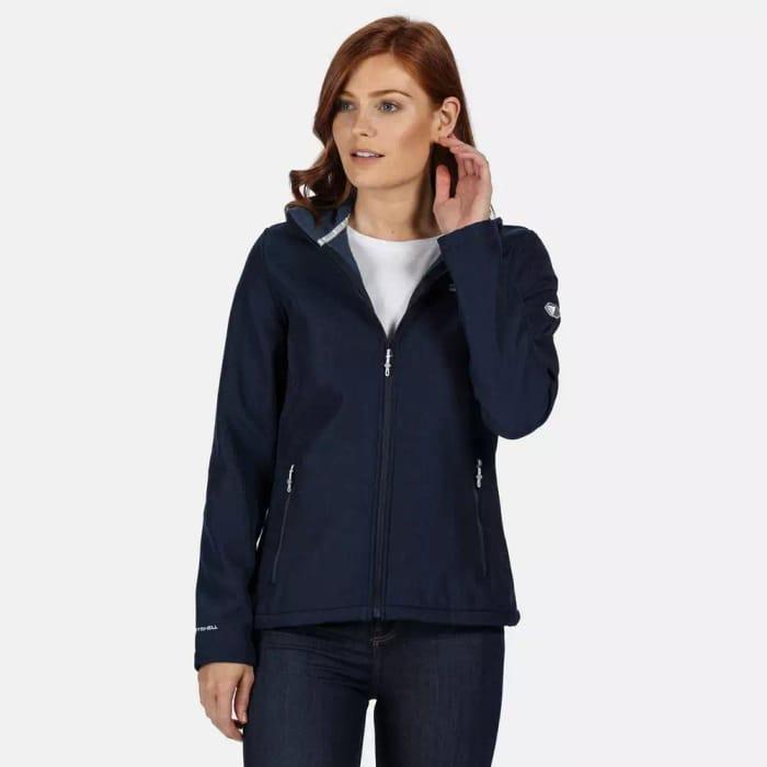 Regatta - Blue 'Connie IV' Full Zip Softshell Jacket