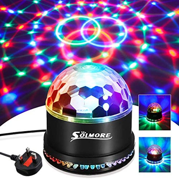 SAVE 60% - Disco Lights SOLMORE 51 LEDs Party Stage Lights 12W