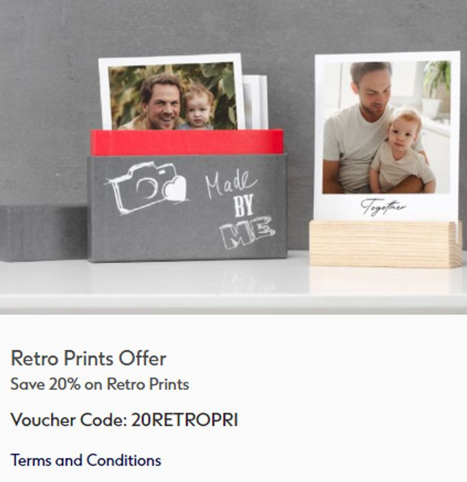 Save 20% on Retro Prints