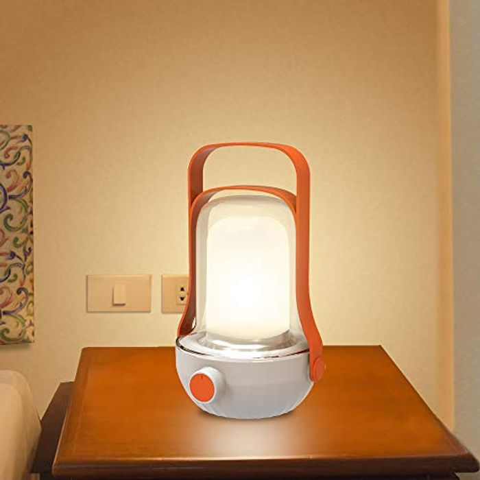 Deal Stack! Harmonic Bedside USB Rechargeable Table Lamp at 90% Discount
