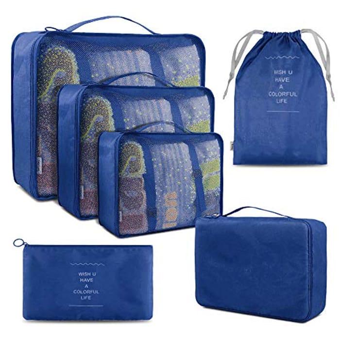 Price Drop! 6 Luggage Packing Cubes Set