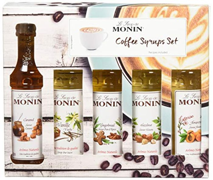 Monin Syrup Coffee Gift Set 5x5cl (Prime)