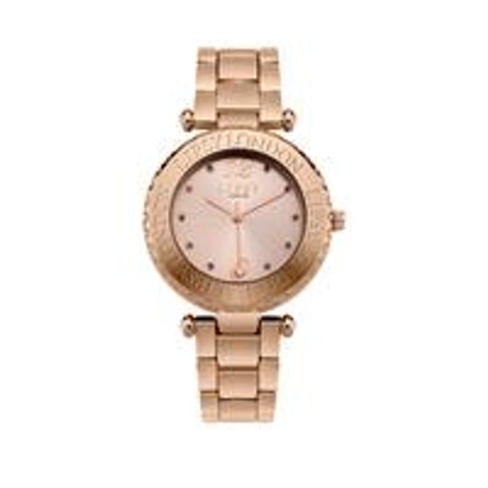 Lipsy Lispy Rose Gold Dial Rose Gold Bracelet Ladies Watch