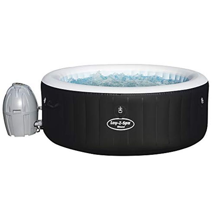 Lay-Z-Spa Miami Hot Tub - QUICKLY NOW! IN STOCK AT AMAZON 19:38pm