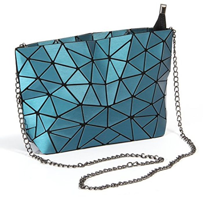 Hot One Geometric Shoulder Bag Chain Crossbody