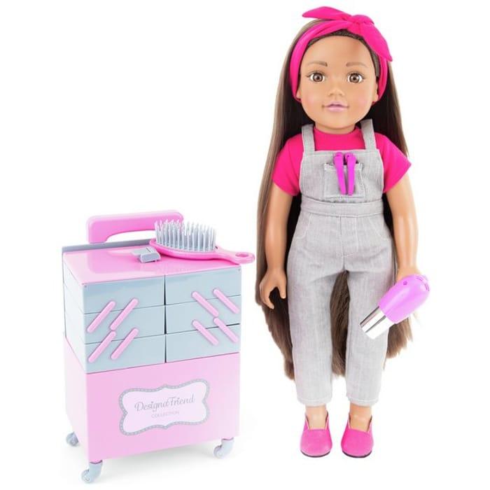 Chad Valley Designafriend Milly Doll - 18inch/45cm