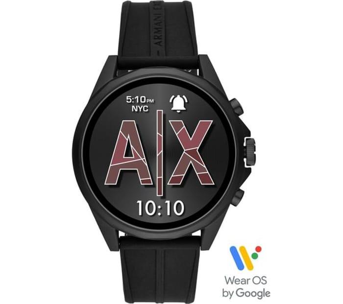Cheap ARMANI EXCHANGE Smartwatch - Black, Universal - Save £100!