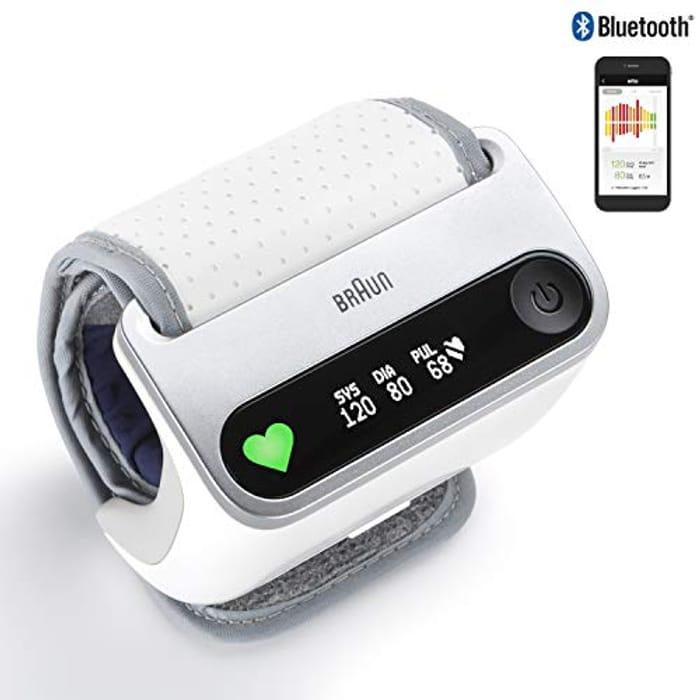 Braun iCheck 7 Wrist Blood Pressure Monitor for Smart and Fast Measurement