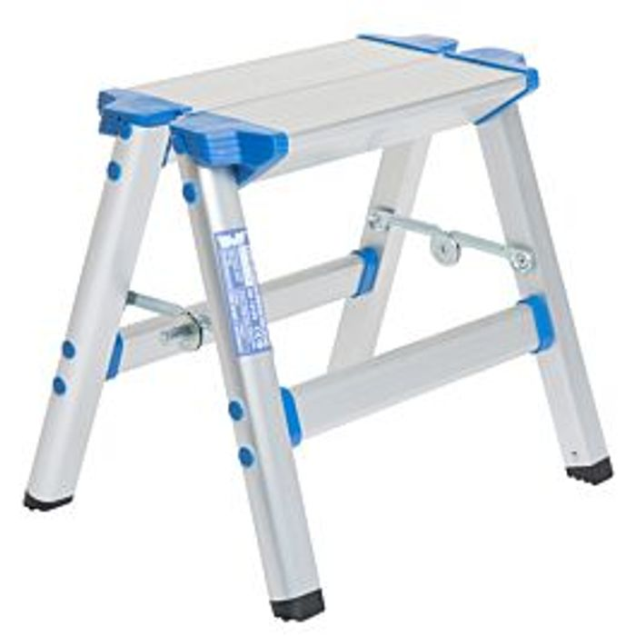 Wolf Aluminium Folding Step Stool - Save £10