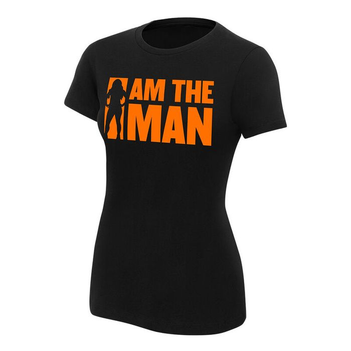 """Becky Lynch """"I Am the Man"""" Women's Authentic T-Shirt - Save £10"""