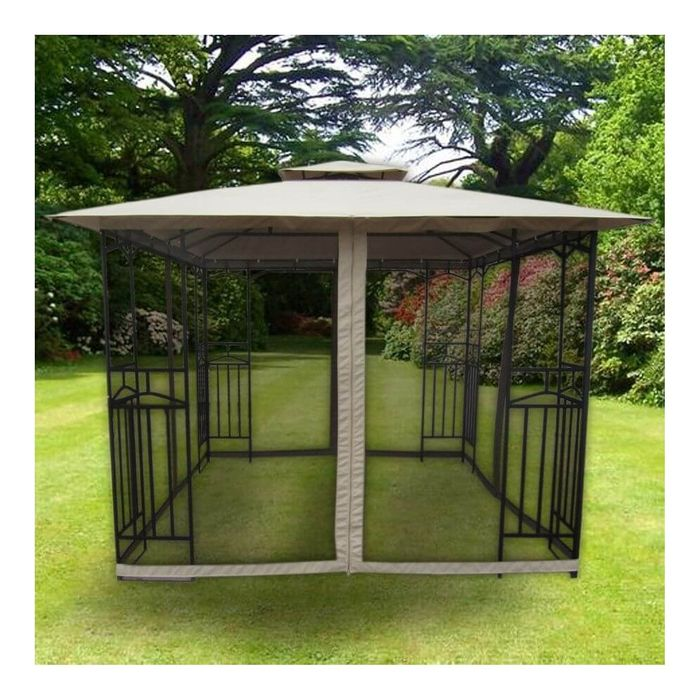 Winchester Gazebo - Beige Down From £339.99 to £179.99