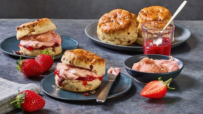 M&S Launches Strawberry Clotted Cream - Only £2.50!