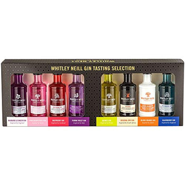 Whitley Neill Gin Selection Gift Pack, 8 X 5 Cl