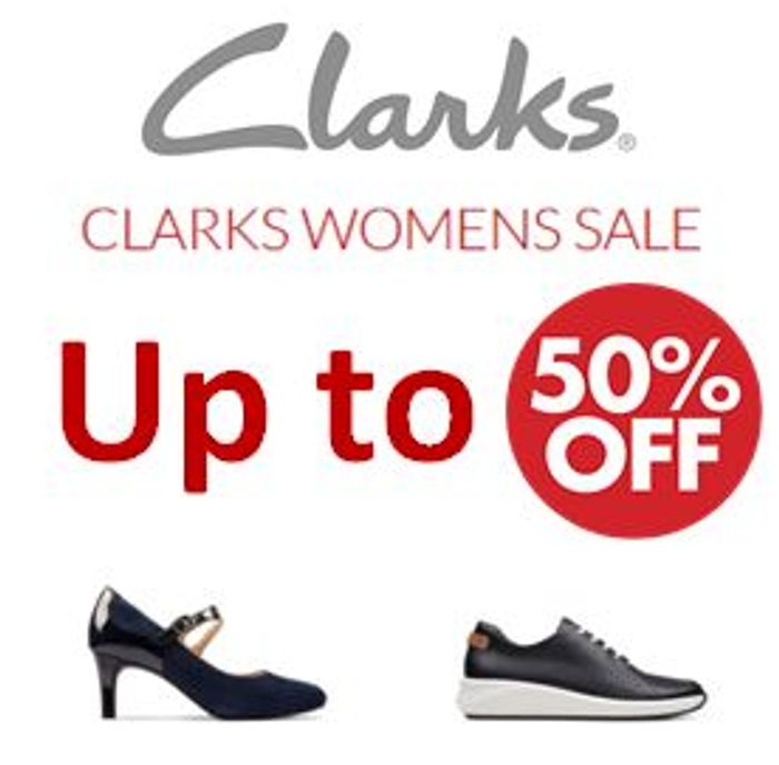 Special Offer - Clarks Sale - up to 50% off Clarks