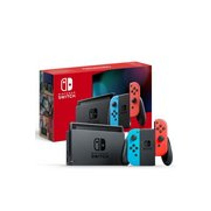 Nintendo Switch (Neon) - in Stock, Be Quick!