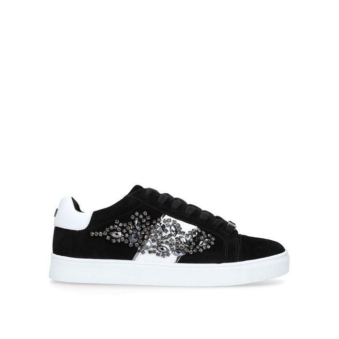 Carvela - Black 'Lustre 3' Lace up Trainers + Free Delivery