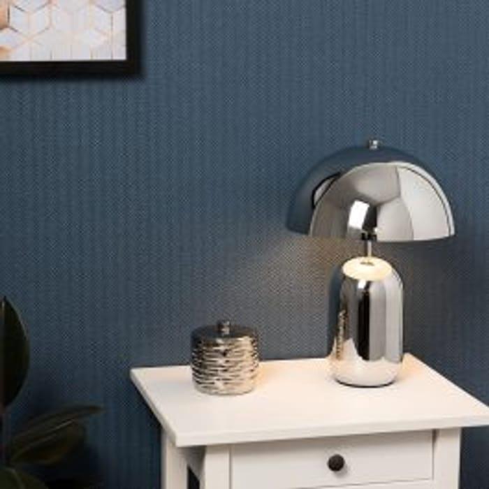 Kasa Chrome Table Lamp