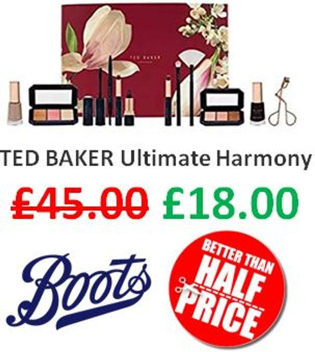 Ted Baker Ultimate Harmony Gift Set - Better than 1/2 Price