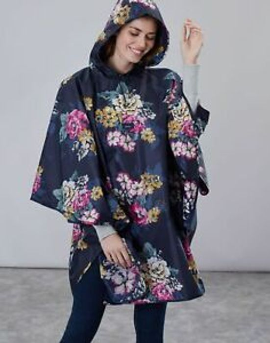 Joules Women 30Th Joules Poncho Showerproof Cover up