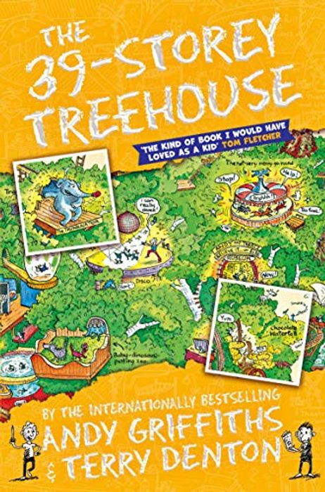 Cheap 39 Story Treehouse Book Only £2.09!