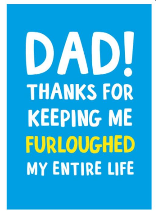 FREE A5 Father's Day Card With Vodafone VeryMe App - 76p P&P