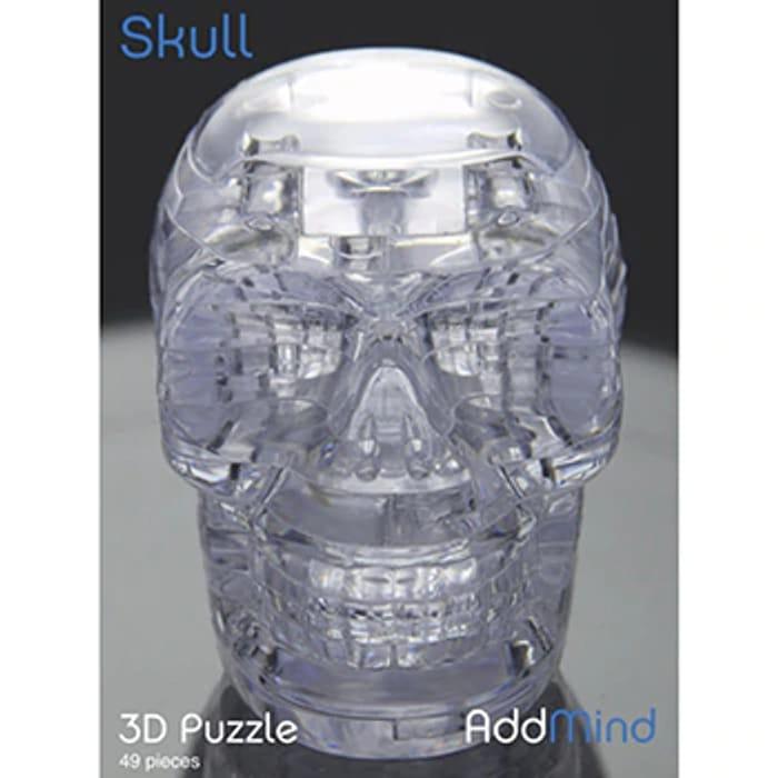 Best Price! 3D Skull 49 Piece Jigsaw Puzzle