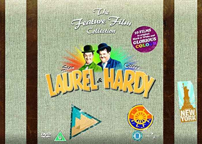 CHEAP! Laurel and Hardy - the Feature Film Suitcase Box Collection Dvd