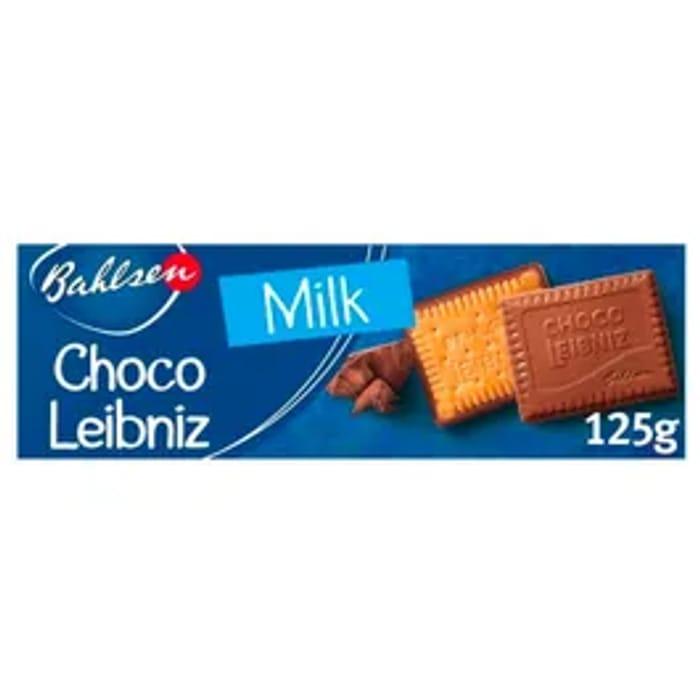 Bahlsen Choco Leibniz Biscuits Milk Chocolate 108g
