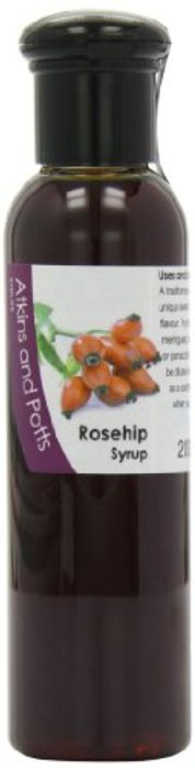 Atkins and Potts Rosehip Syrup 200 G for 58p