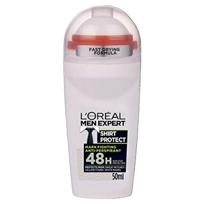 Cheap L'Oreal Paris Men Expert Shirt Protect 48H Roll-on Deodorant Only £1.29