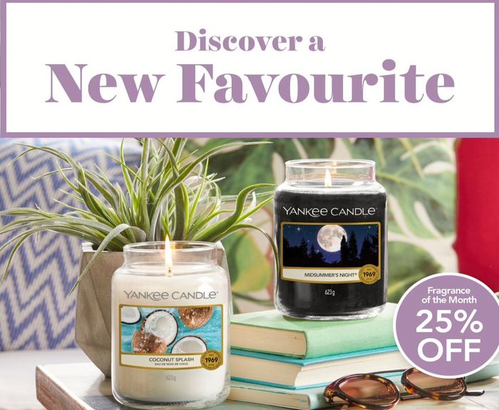 25% off Coconut Splash & Midsummer's Night - Free Votive Candle with Order