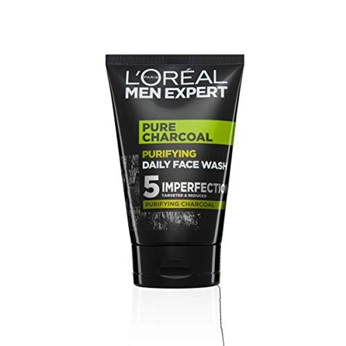 L'Oreal Paris Men Expert, Face Wash, Pure Charcoal 100ml