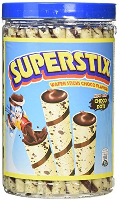 Super Stix Chocolate Flavour Wafer Stick 346 G