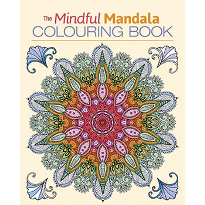 Cheap Mindful Mandala Colouring Book - Save £4.99!