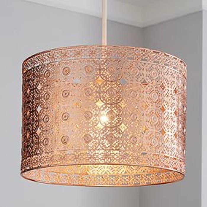 Rinlo Fretwork Copper Easy Fit Pendant