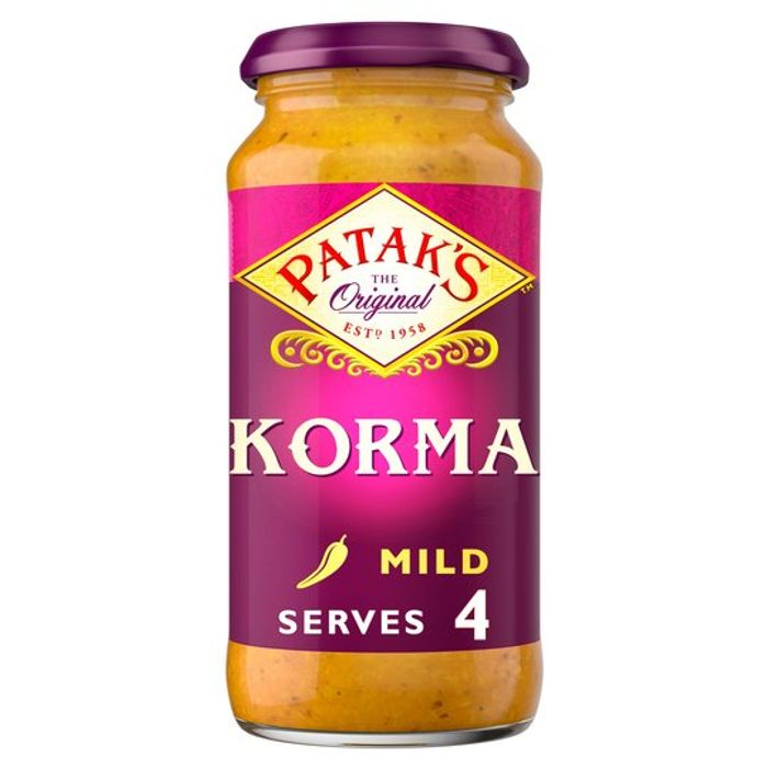 Pataks Cooking Sauce 450g for £1 Each at Tesco