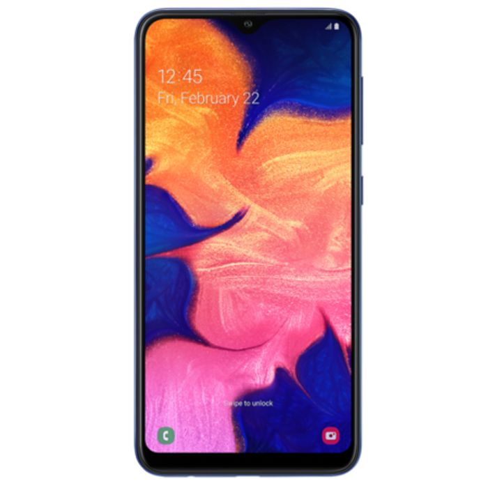 "CHEAP! Samsung Galaxy A10 Blue 6.2"" 32GB 4G Dual SIM Unlocked & SIM Free"